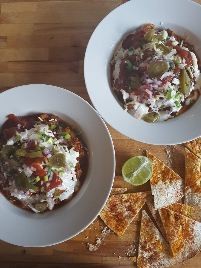 5 Days – 5 Meals: Chilli Beef with Nachos